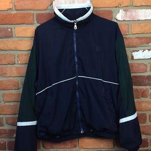 Vintage 80s 90s givenchy activewear windbreaker L